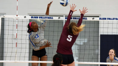 Photo of BLINN'S JAYDE SHELTON NAMED REGION XIV VOLLEYBALL PLAYER OF THE YEAR