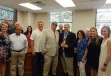 Photo of DR. ROBERT STARK RECEIVES PRESIDENT'S AWARD FROM TEXAS AMBULANCE ASSOCIATION