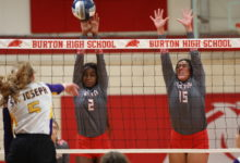 Photo of BURTON VOLLEYBALL FALLS TO FAYETTEVILLE